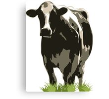 Cow in a Field 02 Canvas Print