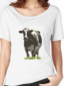 Cow in a Field 02 Women's Relaxed Fit T-Shirt