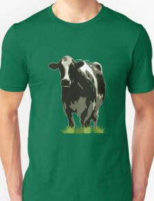Cow in a Field 02 Unisex T-Shirt