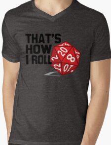 That's How I Roll Mens V-Neck T-Shirt
