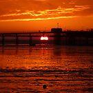 Blazing Sunset by Vicki Spindler (VHS Photography)