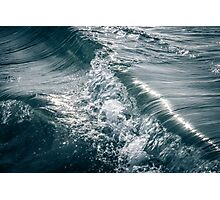 Flowing Waves in the Ocean Photographic Print