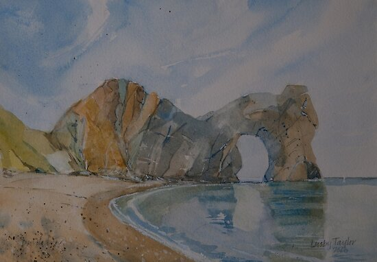 Durdle Door by Peter Lusby Taylor