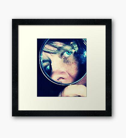 03-18-11:  Mad Detective Skills Framed Print