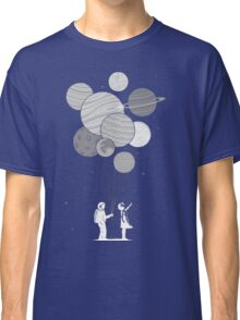 Between planets and balloons. Classic T-Shirt