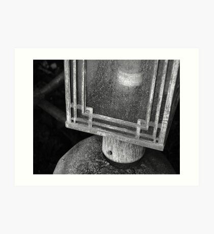 Enclosed Lantern on a Stand Art Print