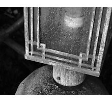 Enclosed Lantern on a Stand Photographic Print