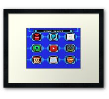 Select your video Framed Print