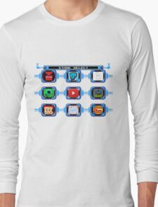 Select your video Long Sleeve T-Shirt