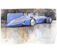 Bluebird world land speed record car 1931 Poster