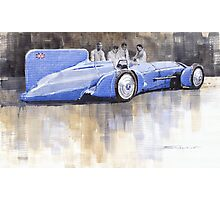 Bluebird world land speed record car 1931 Photographic Print