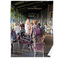 Vic Market, Saturday Morning Poster