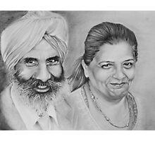 Sikh Couple No.1 Photographic Print