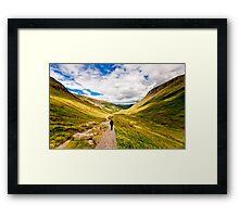 Helvellyn Trail (Borderless) Framed Print