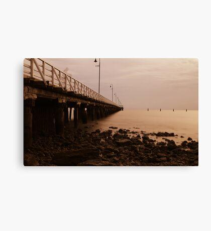 ghost pier Canvas Print
