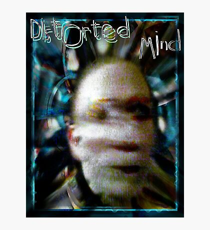 Distorted Mind Photographic Print
