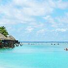 Aitutaki lagoon by JennyLee