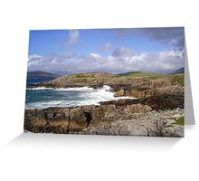 Mendelssohnian Vision - Hebridean Seascape Greeting Card