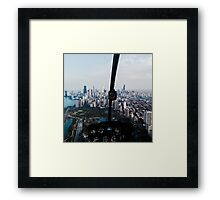Helicopter Views Framed Print