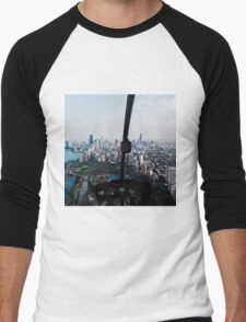 Helicopter Views Men's Baseball ¾ T-Shirt