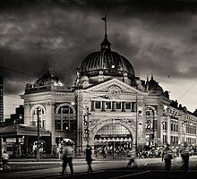 Flinders Street Station by Karen Scrimes