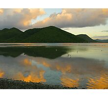 Dawn Reflections At Mary Point Photographic Print