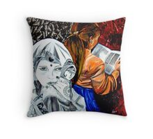adolescence Throw Pillow