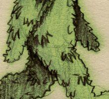 Hashsquatch Sticker