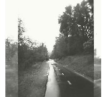 rainy path. Photographic Print