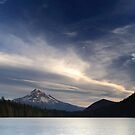 Moon & Mt. Hood · Lost Lake by Tula Top