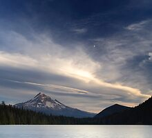 Moon & Mt. Hood · Lost Lake by Tula Top