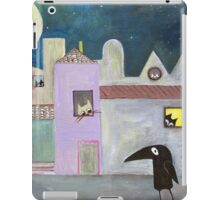 city of cats iPad Case/Skin