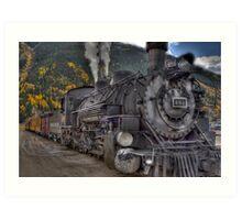 Durango & Silverton Narrow Gauge Train Art Print