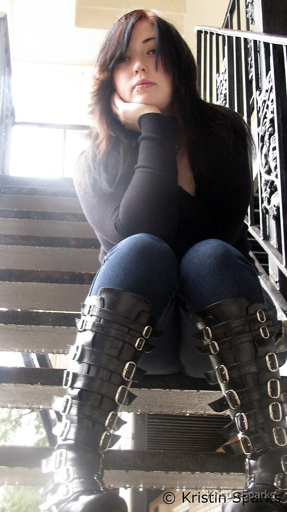 Me and My Boots by Kristin Sparks