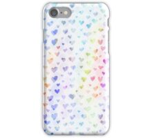 Pastel Hearts iPhone Case/Skin