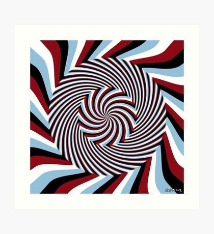 Dark Hypnosis (Bhakti) Art Print