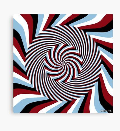 Dark Hypnosis (Bhakti) Canvas Print