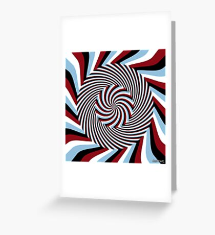 Dark Hypnosis (Bhakti) Greeting Card