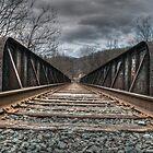 Railroad Tracks II by Matthew Hutzell