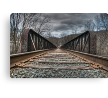 Railroad Tracks II Canvas Print