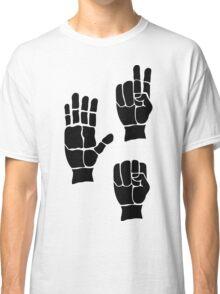 Scissors Paper Rock Classic T-Shirt