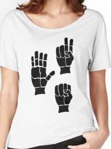 Scissors Paper Rock Women's Relaxed Fit T-Shirt