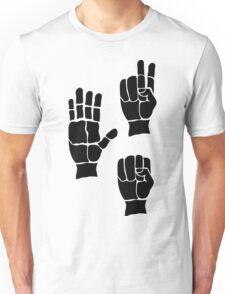 Scissors Paper Rock Unisex T-Shirt