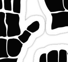 Scissors Paper Rock Sticker