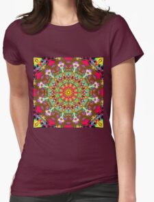 Indian pattern Womens Fitted T-Shirt