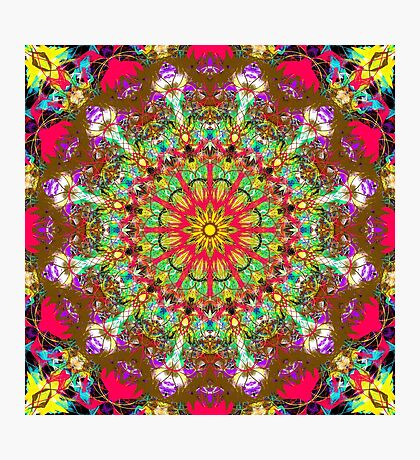 Indian pattern Photographic Print
