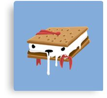Gimme S'more Puft  Canvas Print