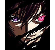 code geass lelouch britannia anime manga shirt Photographic Print