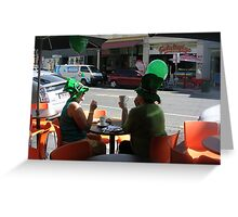 St Pats day Greeting Card