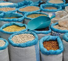 Dried Food at Market  by Escott O. Norton